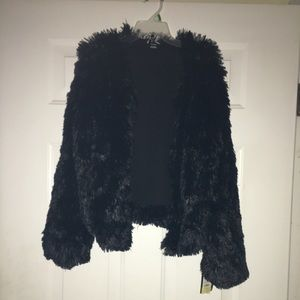 Other - Faux fur girls jacket!!